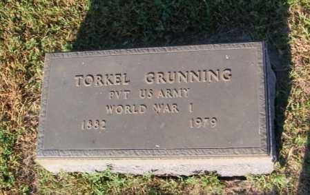 GRUNNING, TORKEL - Lincoln County, South Dakota   TORKEL GRUNNING - South Dakota Gravestone Photos