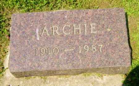 GUBBRUD, ARCHIE - Lincoln County, South Dakota | ARCHIE GUBBRUD - South Dakota Gravestone Photos