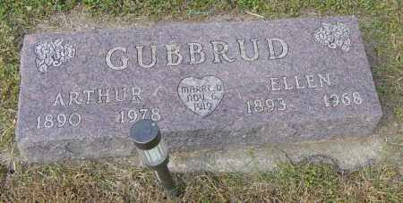GUBBRUD, ARTHUR - Lincoln County, South Dakota | ARTHUR GUBBRUD - South Dakota Gravestone Photos