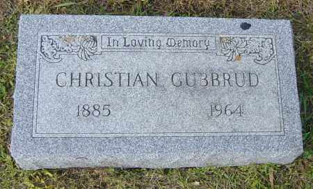GUBBRUD, CHRISTIAN - Lincoln County, South Dakota   CHRISTIAN GUBBRUD - South Dakota Gravestone Photos