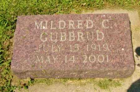 GUBBRUD, MILDRED C - Lincoln County, South Dakota | MILDRED C GUBBRUD - South Dakota Gravestone Photos
