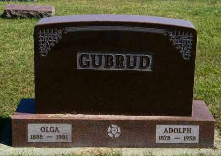 GUBRUD, OLGA - Lincoln County, South Dakota | OLGA GUBRUD - South Dakota Gravestone Photos
