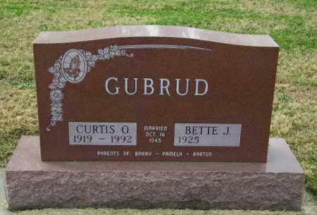 GUBRUD, BETTE J - Lincoln County, South Dakota | BETTE J GUBRUD - South Dakota Gravestone Photos