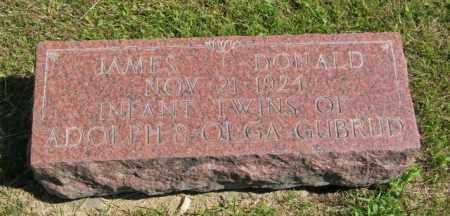 GUBRUD, DONALD - Lincoln County, South Dakota | DONALD GUBRUD - South Dakota Gravestone Photos