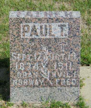 GUBRUD, PAUL T - Lincoln County, South Dakota | PAUL T GUBRUD - South Dakota Gravestone Photos