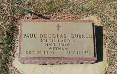 GUBRUD, PAUL DOUGLAS - Lincoln County, South Dakota | PAUL DOUGLAS GUBRUD - South Dakota Gravestone Photos