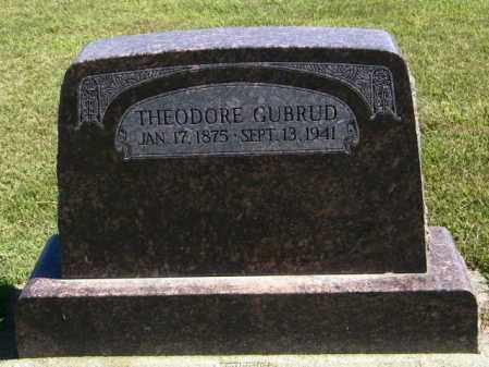 GUBRUD, THEODORE - Lincoln County, South Dakota | THEODORE GUBRUD - South Dakota Gravestone Photos