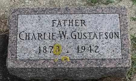 GUSTAFSON, CHARLIE W - Lincoln County, South Dakota | CHARLIE W GUSTAFSON - South Dakota Gravestone Photos