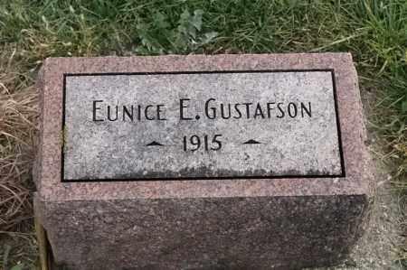 GUSTAFSON, EUICE E - Lincoln County, South Dakota | EUICE E GUSTAFSON - South Dakota Gravestone Photos