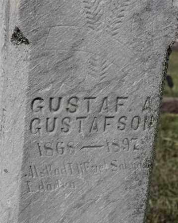 GUSTAFSON, GUSTAF A - Lincoln County, South Dakota | GUSTAF A GUSTAFSON - South Dakota Gravestone Photos