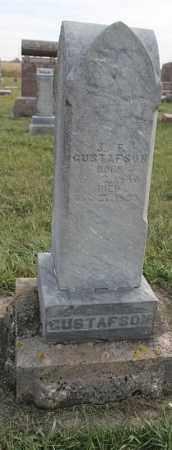 GUSTAFSON, J. F. - Lincoln County, South Dakota   J. F. GUSTAFSON - South Dakota Gravestone Photos