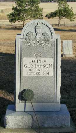 GUSTAFSON, JOHN M - Lincoln County, South Dakota | JOHN M GUSTAFSON - South Dakota Gravestone Photos