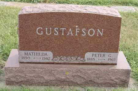 GUSTAFSON, MATHILDA - Lincoln County, South Dakota | MATHILDA GUSTAFSON - South Dakota Gravestone Photos