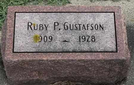 GUSTAFSON, RUBY P - Lincoln County, South Dakota | RUBY P GUSTAFSON - South Dakota Gravestone Photos