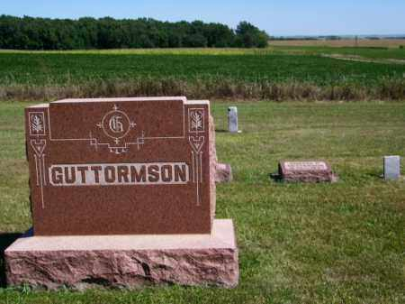 GUTTORMSON FAMILY PLOT, - - Lincoln County, South Dakota | - GUTTORMSON FAMILY PLOT - South Dakota Gravestone Photos