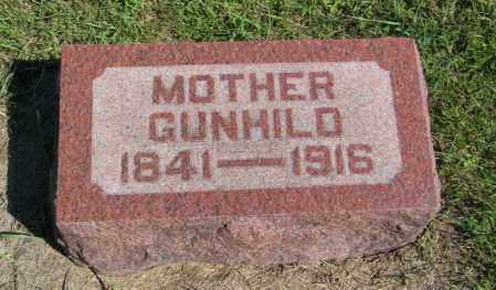 GUTTORMSON, GUNHILD - Lincoln County, South Dakota | GUNHILD GUTTORMSON - South Dakota Gravestone Photos