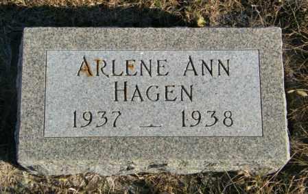 HAGEN, ARLENE ANN - Lincoln County, South Dakota | ARLENE ANN HAGEN - South Dakota Gravestone Photos