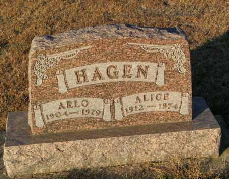 HAGEN, ARLO - Lincoln County, South Dakota | ARLO HAGEN - South Dakota Gravestone Photos