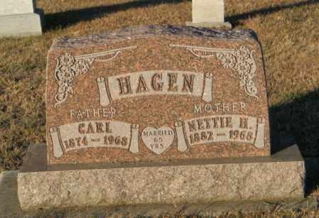 HAGEN, NETTIE H - Lincoln County, South Dakota   NETTIE H HAGEN - South Dakota Gravestone Photos
