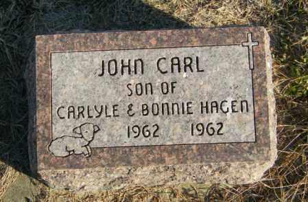 HAGEN, JOHN CARL - Lincoln County, South Dakota | JOHN CARL HAGEN - South Dakota Gravestone Photos