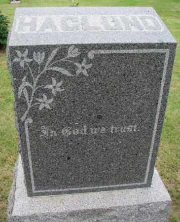 HAGLUND, FAMILY PLOT MARKER - Lincoln County, South Dakota   FAMILY PLOT MARKER HAGLUND - South Dakota Gravestone Photos
