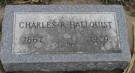 HALLQUIST, CHARLES R - Lincoln County, South Dakota   CHARLES R HALLQUIST - South Dakota Gravestone Photos
