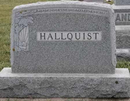 HALLQUIST FAMILY PLOT, CHARLES - Lincoln County, South Dakota | CHARLES HALLQUIST FAMILY PLOT - South Dakota Gravestone Photos