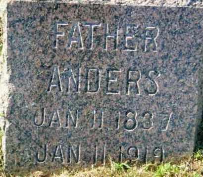HANSON, ANDERS - Lincoln County, South Dakota | ANDERS HANSON - South Dakota Gravestone Photos