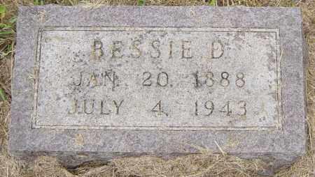 HANSON, BESSIE D - Lincoln County, South Dakota   BESSIE D HANSON - South Dakota Gravestone Photos