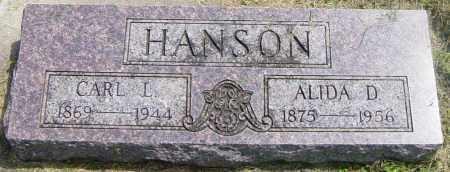 HANSON, CARL L - Lincoln County, South Dakota | CARL L HANSON - South Dakota Gravestone Photos