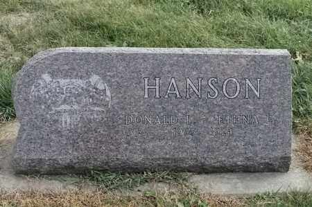 HANSON, ETHNA L - Lincoln County, South Dakota | ETHNA L HANSON - South Dakota Gravestone Photos
