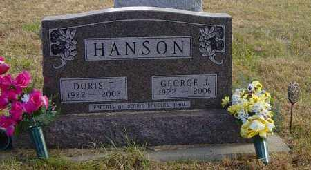 HANSON, GEORGE J - Lincoln County, South Dakota | GEORGE J HANSON - South Dakota Gravestone Photos