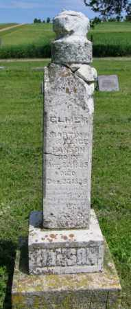HANSON, ELMER - Lincoln County, South Dakota | ELMER HANSON - South Dakota Gravestone Photos