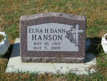 HANSON, ELNA H - Lincoln County, South Dakota | ELNA H HANSON - South Dakota Gravestone Photos