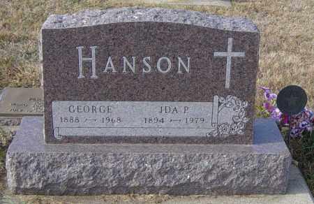HANSON, IDA P - Lincoln County, South Dakota | IDA P HANSON - South Dakota Gravestone Photos