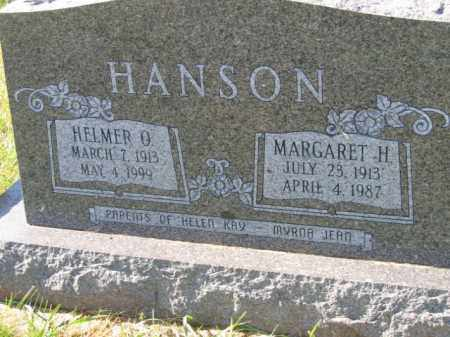 HANSON, HELMER O - Lincoln County, South Dakota | HELMER O HANSON - South Dakota Gravestone Photos