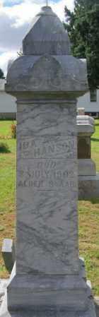 HANSON, IDA A. - Lincoln County, South Dakota | IDA A. HANSON - South Dakota Gravestone Photos