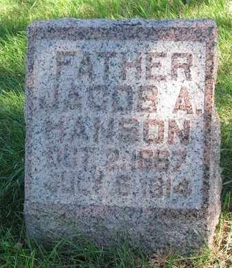 HANSON, JACOB A. - Lincoln County, South Dakota | JACOB A. HANSON - South Dakota Gravestone Photos