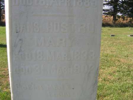 HANSON, MARY - Lincoln County, South Dakota | MARY HANSON - South Dakota Gravestone Photos