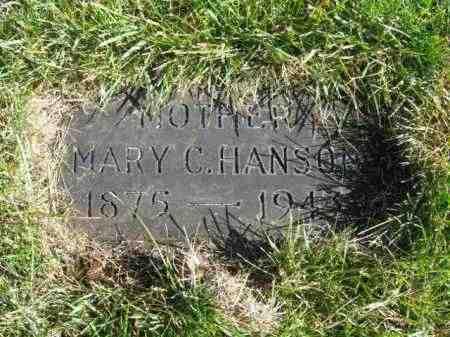 HANSON, MARY C - Lincoln County, South Dakota | MARY C HANSON - South Dakota Gravestone Photos