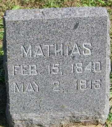 HANSON, MATHIAS - Lincoln County, South Dakota | MATHIAS HANSON - South Dakota Gravestone Photos
