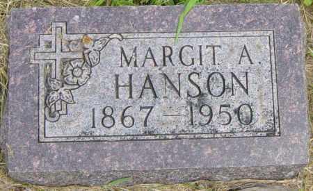 HANSON, MARGIT A - Lincoln County, South Dakota | MARGIT A HANSON - South Dakota Gravestone Photos