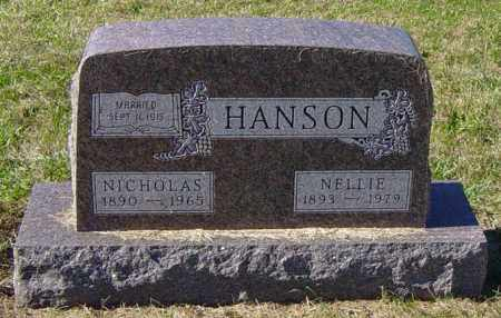 HANSON, NICHOLAS - Lincoln County, South Dakota | NICHOLAS HANSON - South Dakota Gravestone Photos