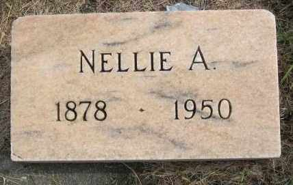 HANSON, NELLIE A. - Lincoln County, South Dakota   NELLIE A. HANSON - South Dakota Gravestone Photos