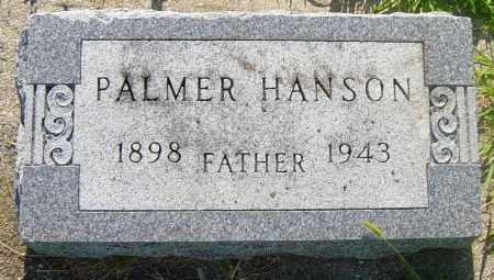 HANSON, PALMER - Lincoln County, South Dakota | PALMER HANSON - South Dakota Gravestone Photos