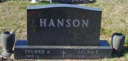 HANSON, SELMA E - Lincoln County, South Dakota | SELMA E HANSON - South Dakota Gravestone Photos
