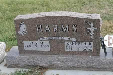 HARMS, KENNETH R - Lincoln County, South Dakota | KENNETH R HARMS - South Dakota Gravestone Photos