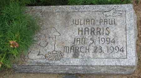 HARRIS, JULIAN PAUL - Lincoln County, South Dakota | JULIAN PAUL HARRIS - South Dakota Gravestone Photos