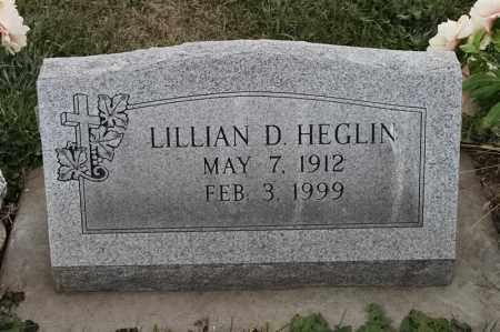 HEGLIN, LILLIAN D - Lincoln County, South Dakota   LILLIAN D HEGLIN - South Dakota Gravestone Photos