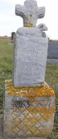 HEGLIN, VICTORIA JOSHPHENA - Lincoln County, South Dakota   VICTORIA JOSHPHENA HEGLIN - South Dakota Gravestone Photos